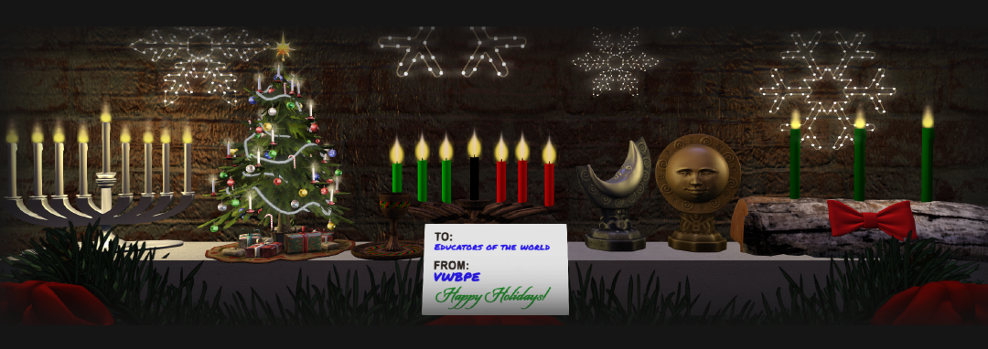 Holiday Greetings from VWBPE