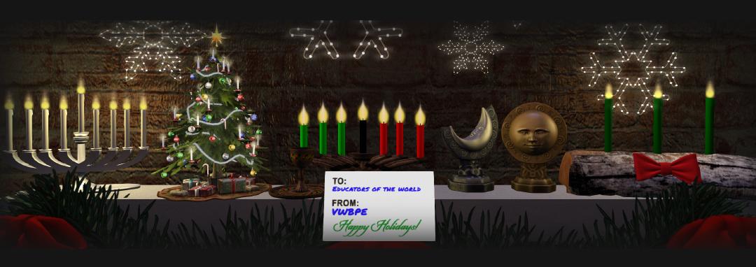 Happy Holidays header