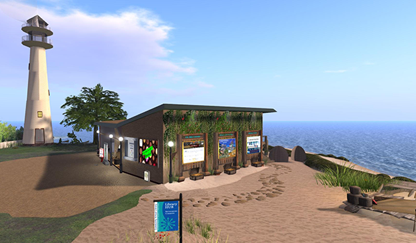 Community Virtual Library Tour: Library Land Exploration @ Second LIfe