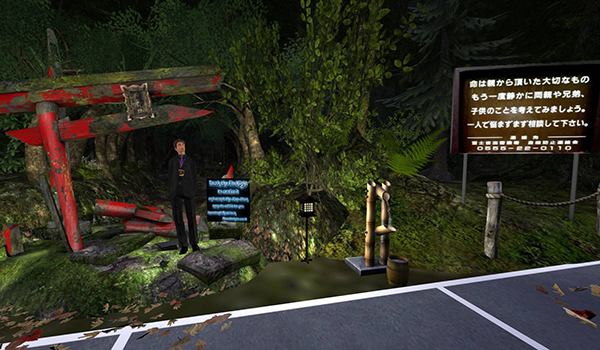 The Power of Perspective: A Forest Adventure @ Second Life