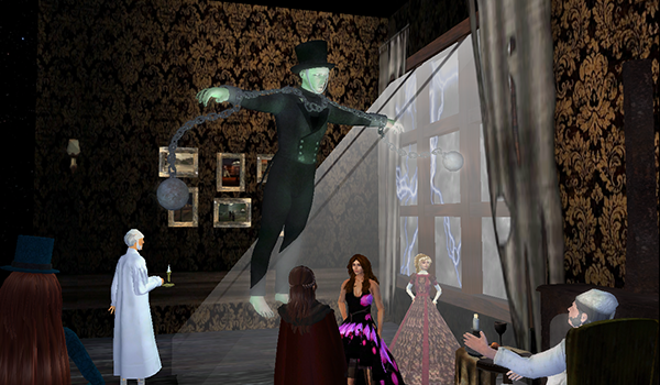 Get Scrooged Redux: Explore A Christmas Carol @ Second Life
