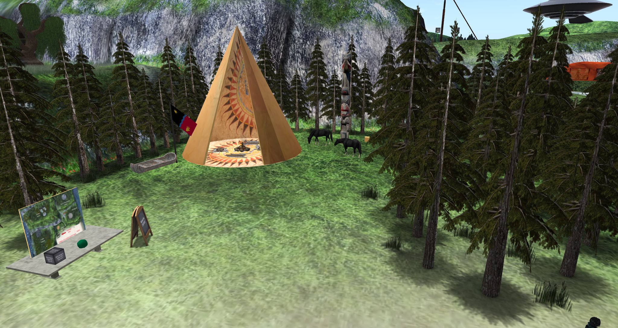 Immersive Tribal Quest @ Second Life
