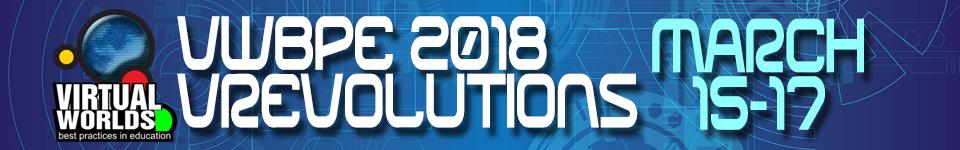 VWBPE 2018 Opens