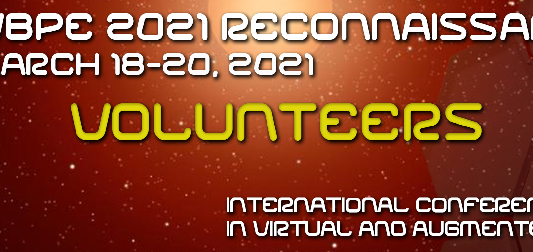 Reminder! Call for Reconnaissance Volunteers