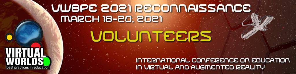 VWBPE 2021 Call for Volunteers