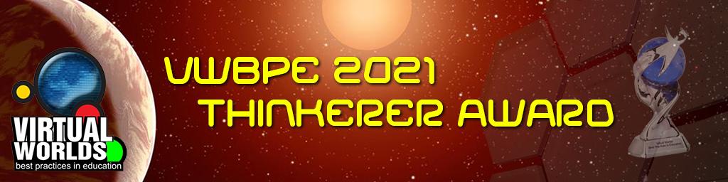 VWBPE 2021 Thinkerer Award