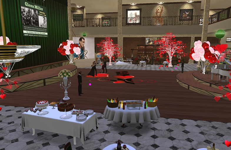 Full Immersion Swing Era Dance Class in Second Life @ Full Immersion Swing Era Dance