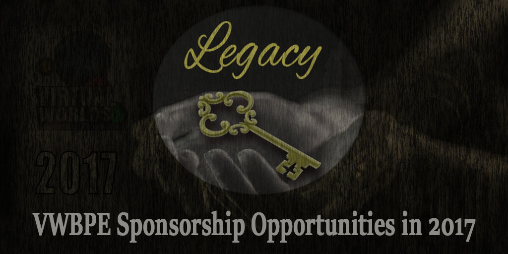 VWBPE Sponsorship Opportunities in 2017