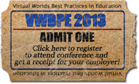 Get your Ticket and Receipt for VWBPE
