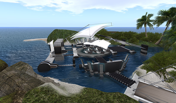 Blue Mars on Virtual Harmony for agile mindsets @ VWBPE 2019 Lecture Area B