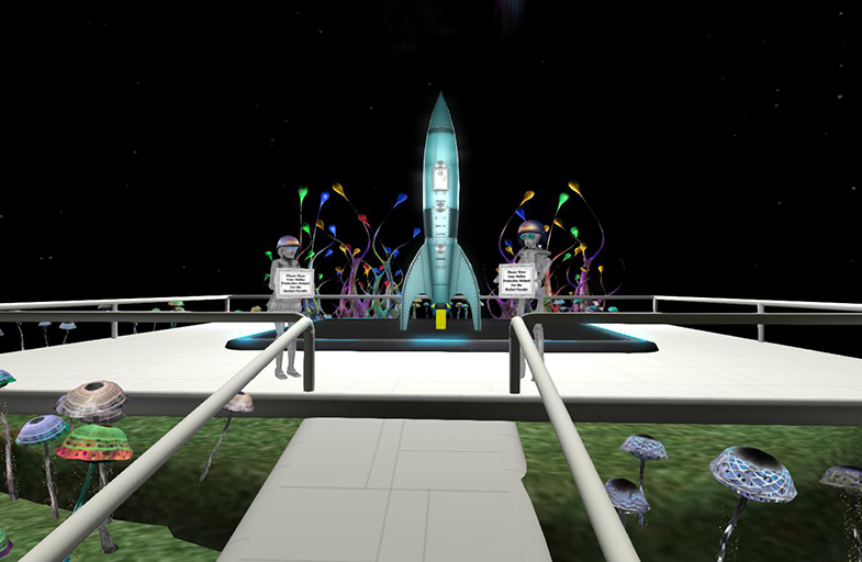 Out of this World Parade @ VWBPE Parade Start