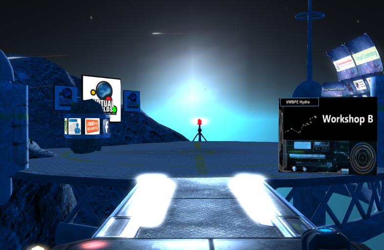 Workshop: Avatars on the Edges of Space: An Immersion Model @ VWBPE Workshop Area B
