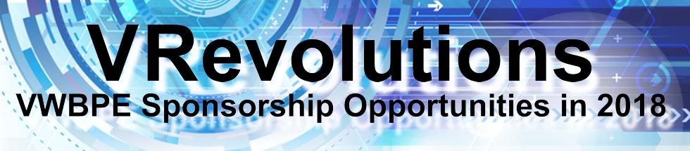 VWBPE Sponsorship Opportunities in 2017