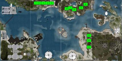 VWBPE Exhibits Map