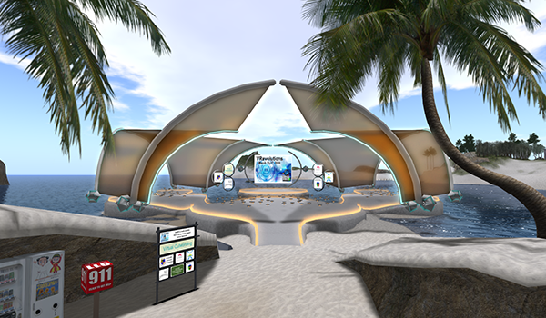 KEYNOTE :: Teacher training within Virtual Worlds @ VWBPE 2019 Main Auditorium