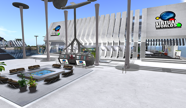 Exhibit Tour and Scavenger Hunt @ VWBPE Social Plaza