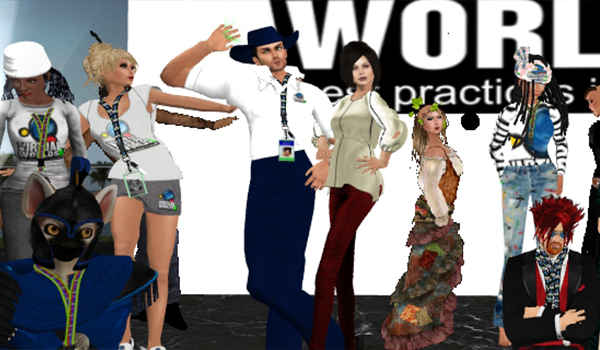 Volunteers Rock Kickoff @ Second Life