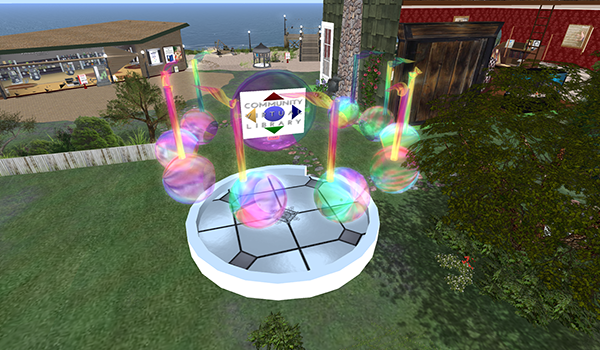 Creative Expression at CVL's Music Library @ CVL's Music Library in SL