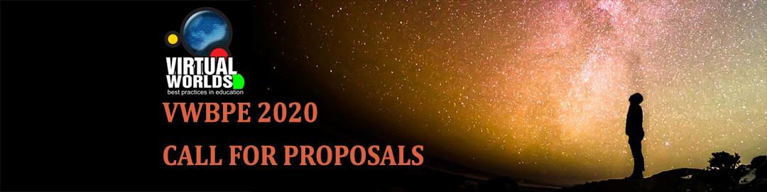 VWBPE 2020 Call for Proposals Header